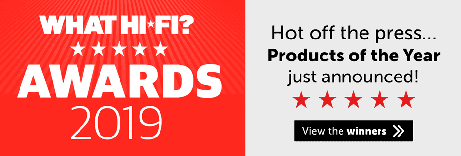 What Hi-Fi? Product Of The Year Winners