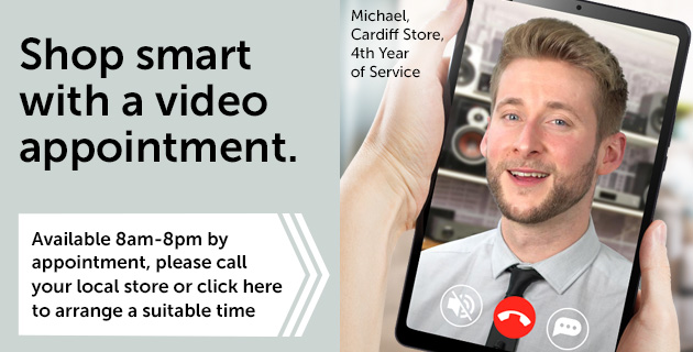 Shop smart with a video appointment