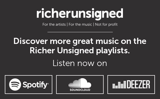 Discover more great music on the Richer Unsinged playlists. Listen now on spotify, soundcloud or deezer