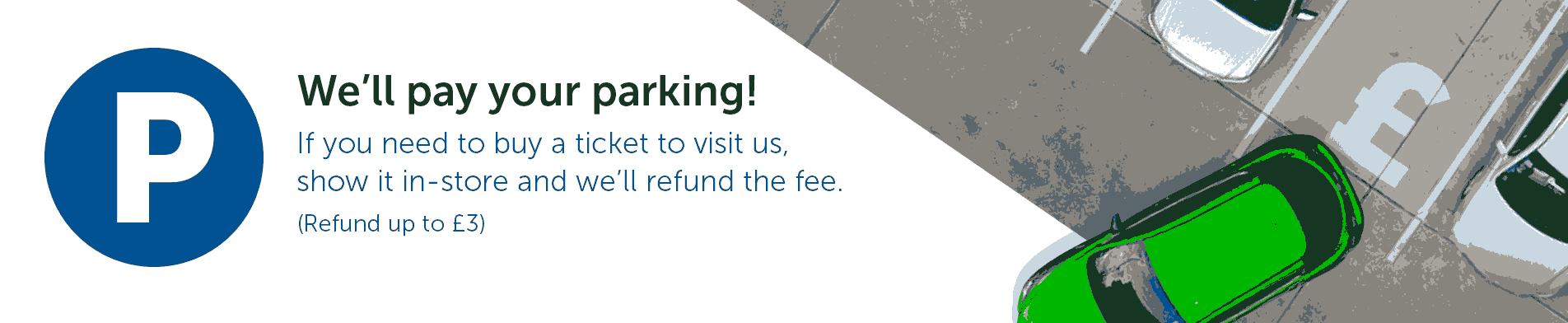 parking refund