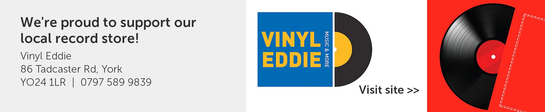 York Vinyl Eddie