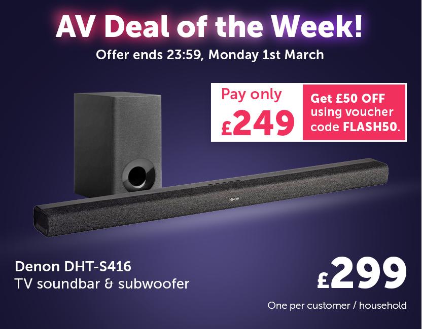 AV Deal Of The Week! - 25Feb-01Mar21