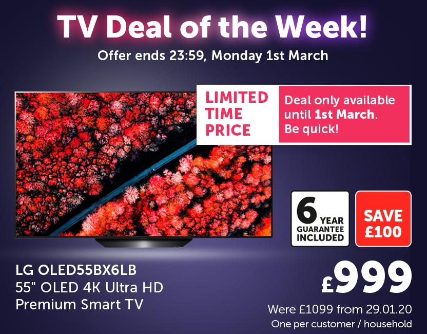 TV Deal Of The Week! - 25Feb-01Mar21