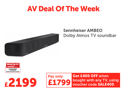 AV Deal Of The Week! - 21-27Jan21