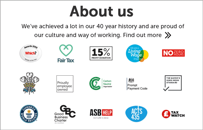 About Us - Our credentials