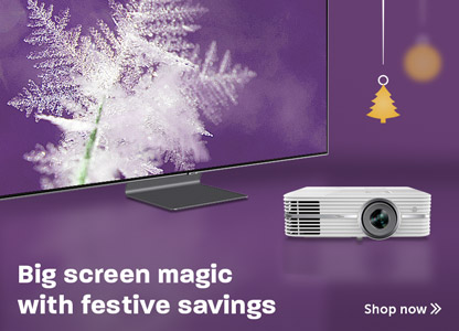Festive TV & Projector savings