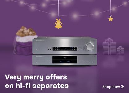 Festive hi-fi separates