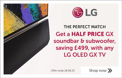 LG GX soundbar promo