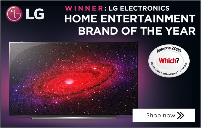 LG - Which? Home Enetertainment Brand Of The Year