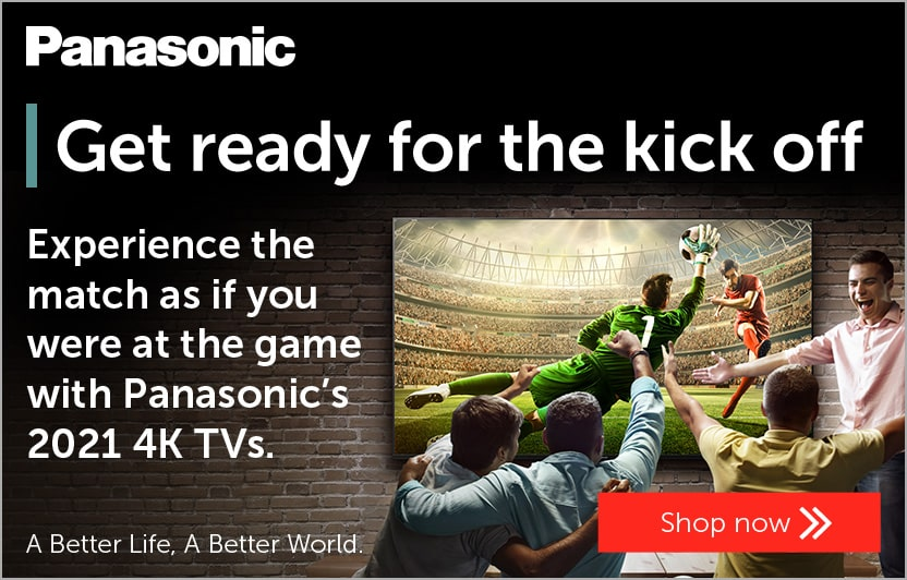 Get ready for the kick off with Panasonic's 2021 4K TVs