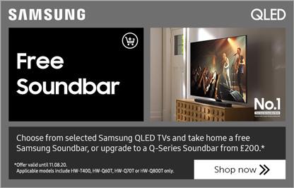 Samsung Good, Better, Best - Free soundbar