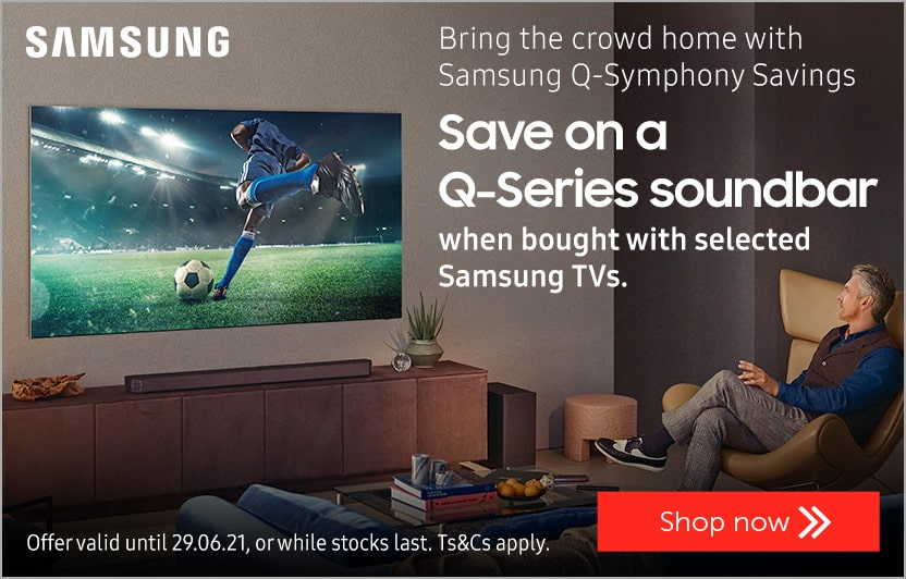 Save on a Samsung Q-Series soundbar
