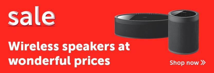 Sale - Wireless & Multiroom Speakers