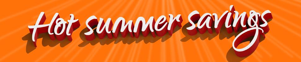 Hot summer deals - Hi-fi